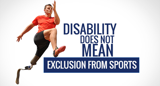 Disability Does Not Mean Exclusion from Sports